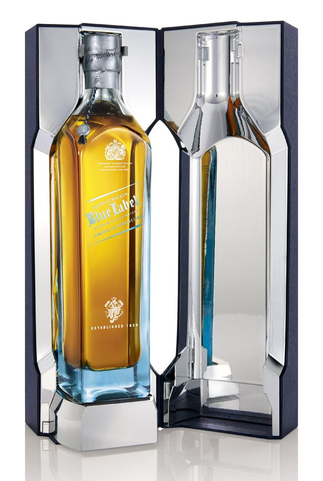 Johnnie Walker Blue Label Have Character Drinks