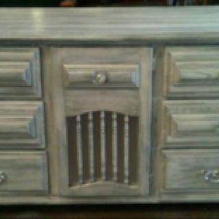 Redone Dresser from Woodgrain & Lace in Kaufman, Tx