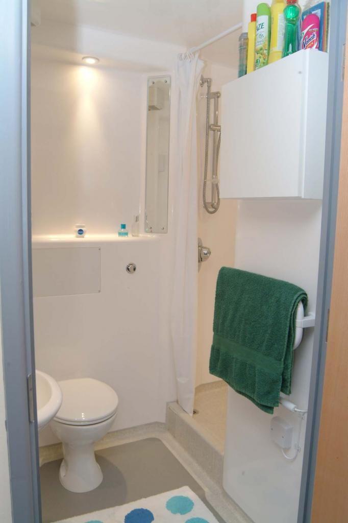 En Suite Bathroom Glasney Student Village Village Exeter Student