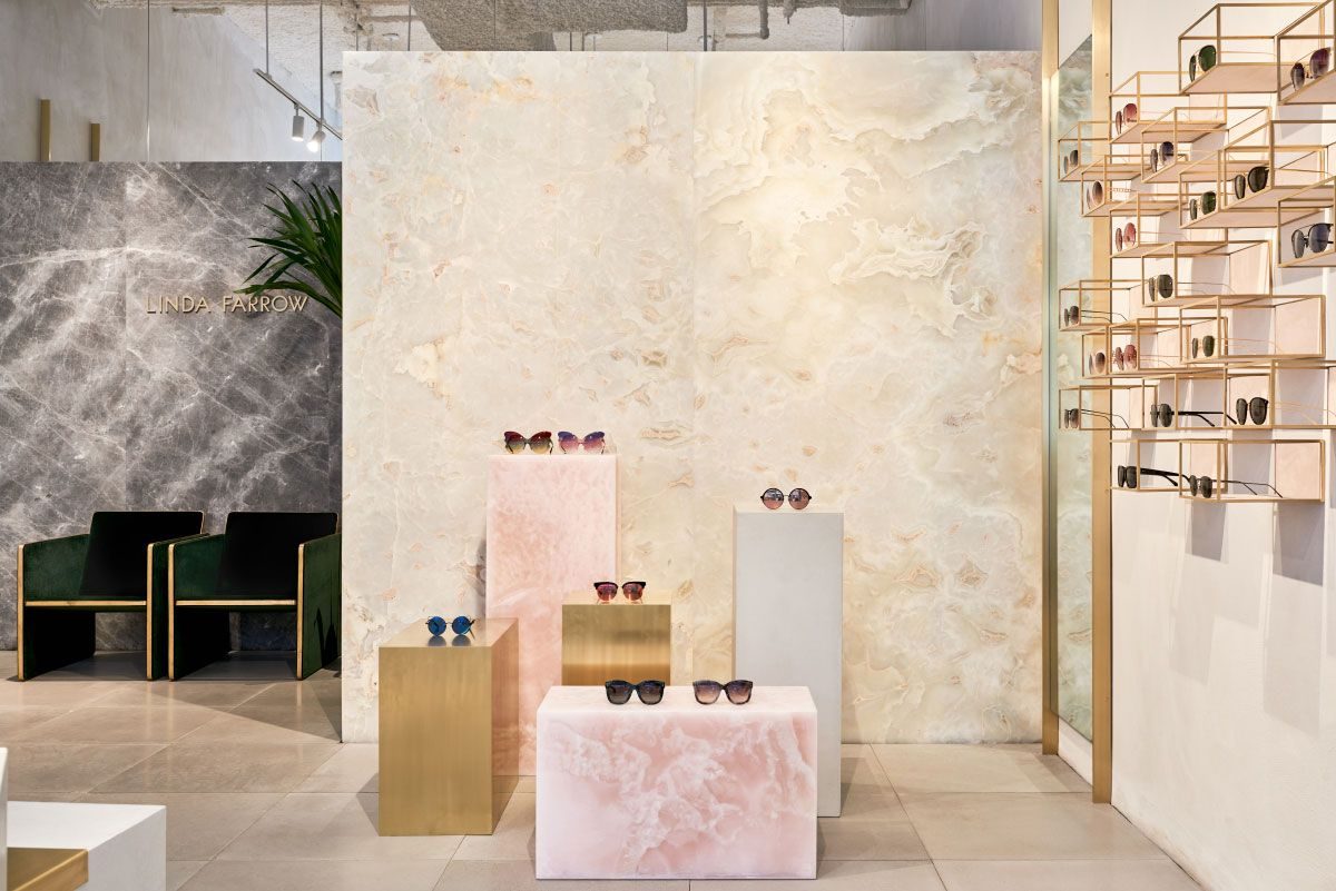 7faf122ec8fb Studio Giancarlo Valle Designs Linda Farrow s First US Store in SoHo ...