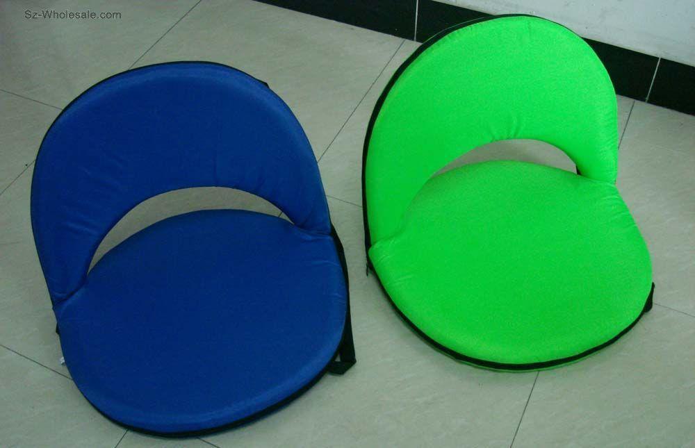 Blue Green Portable Seat Cushions