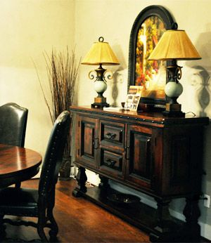 Tuscan Dining Room Furniture Old World Dark Wood Buffets