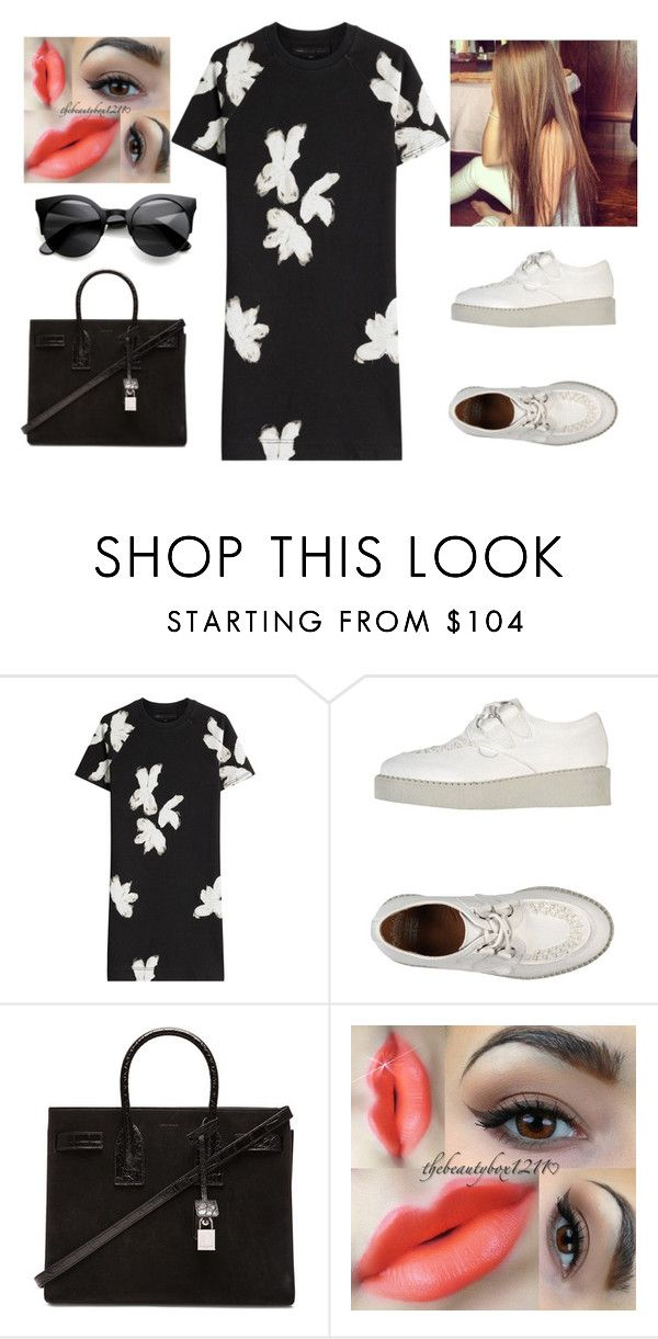 """""""Sem título #881"""" by gabriel-sampaiooo on Polyvore featuring moda, Marc by Marc Jacobs e Yves Saint Laurent"""