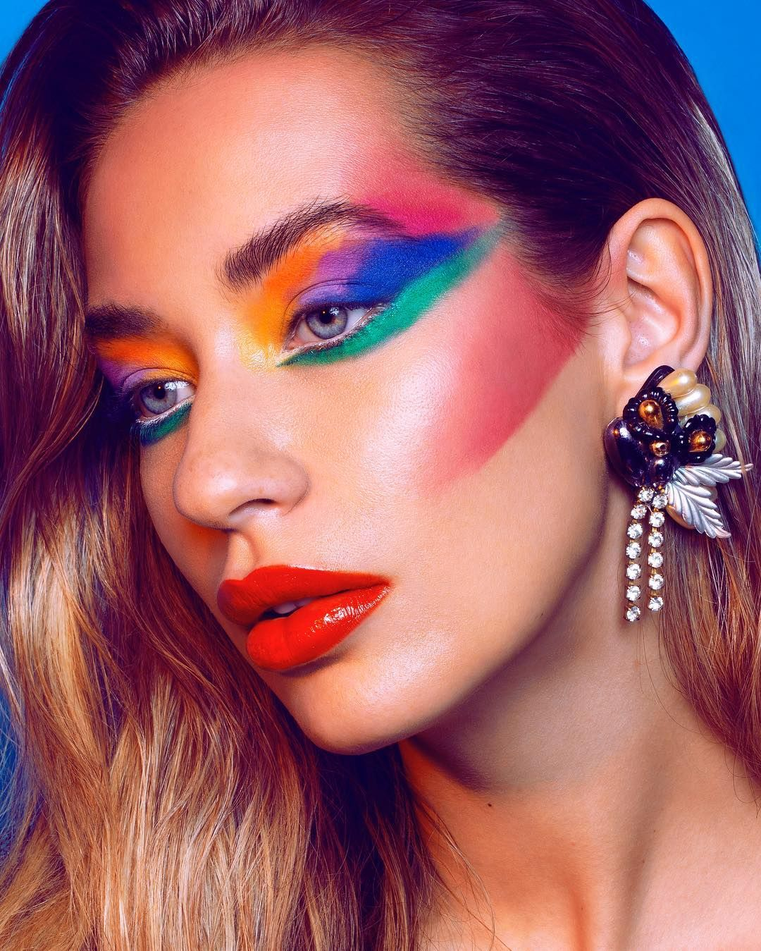 Back The 80 S Vibes Makeup Artist Tanyaguccionemua With This