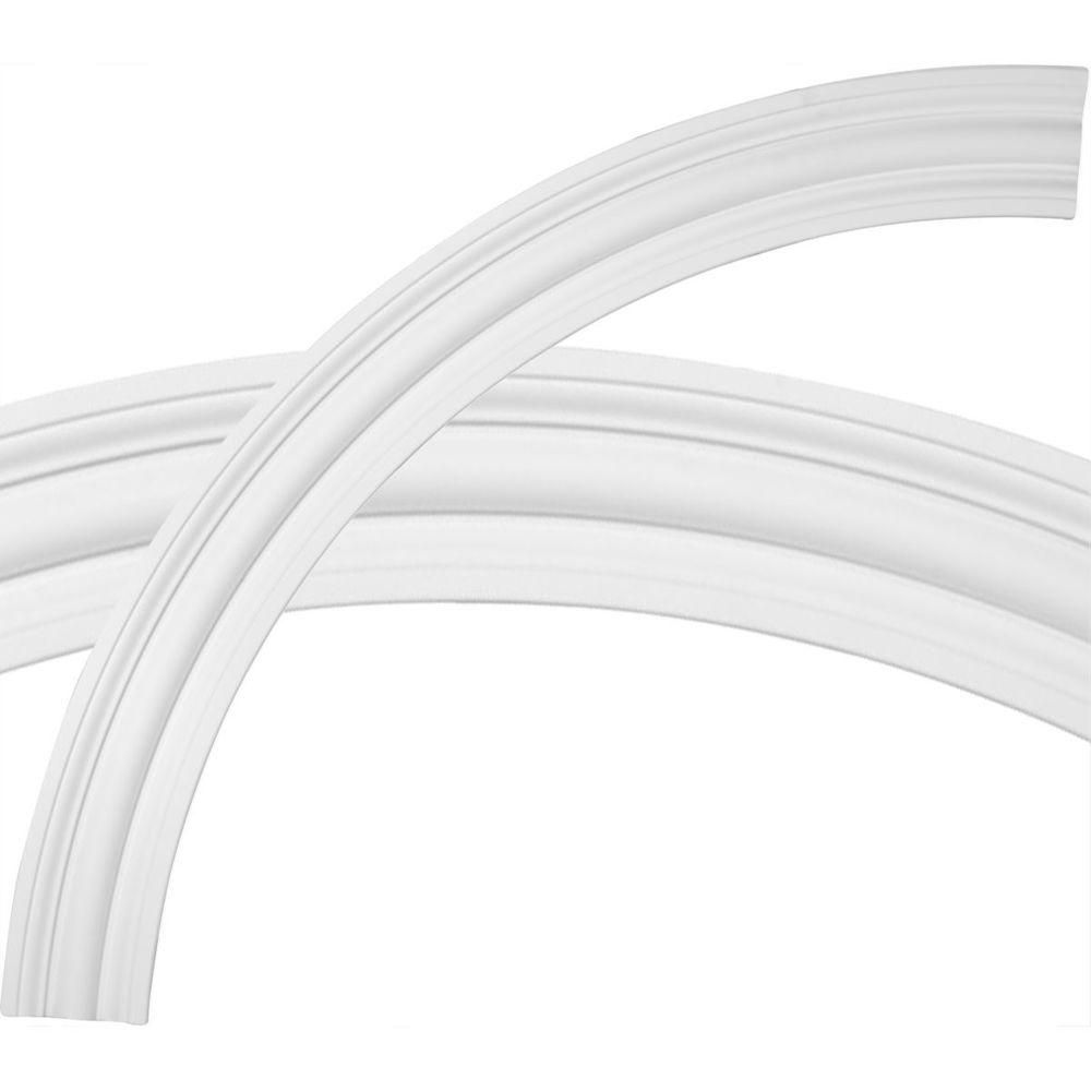 71 3 8 Inchod X 61 3 8 Inchid X 5 Inchw X 1 5 8 Inchp Bedford Ceiling Ring 1 4 Of Complete Circle Multicolor Products In 2019 Ceiling Trim Ceiling Cei