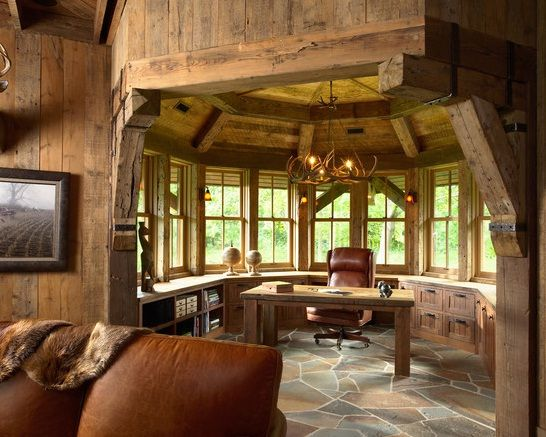 High Croft Hunting Barn Interior Ideas Design For Traditional Home Office Photo By Susan Gilmore