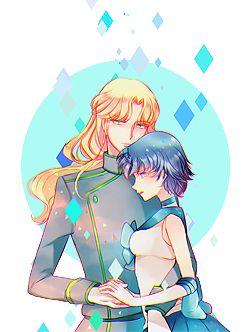 Lord Zoisite & Sailor Mercury