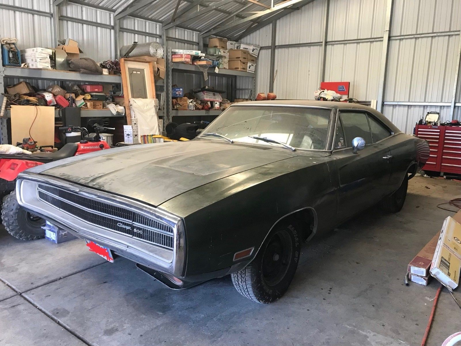 1970 dodge charger vinyl top chrome package dodge