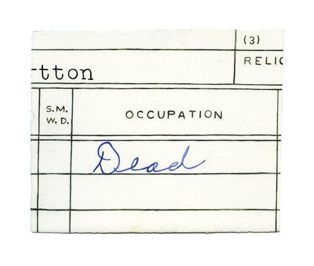 Brad Phillips, Dad's Last Occupation (2012)