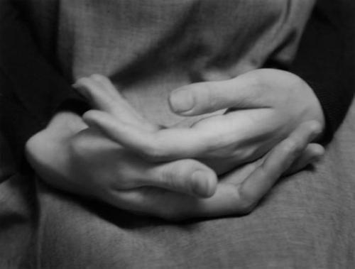 Paul Caponigro, Eleanor's Hands, Winthrop, Massachusetts, 1965.