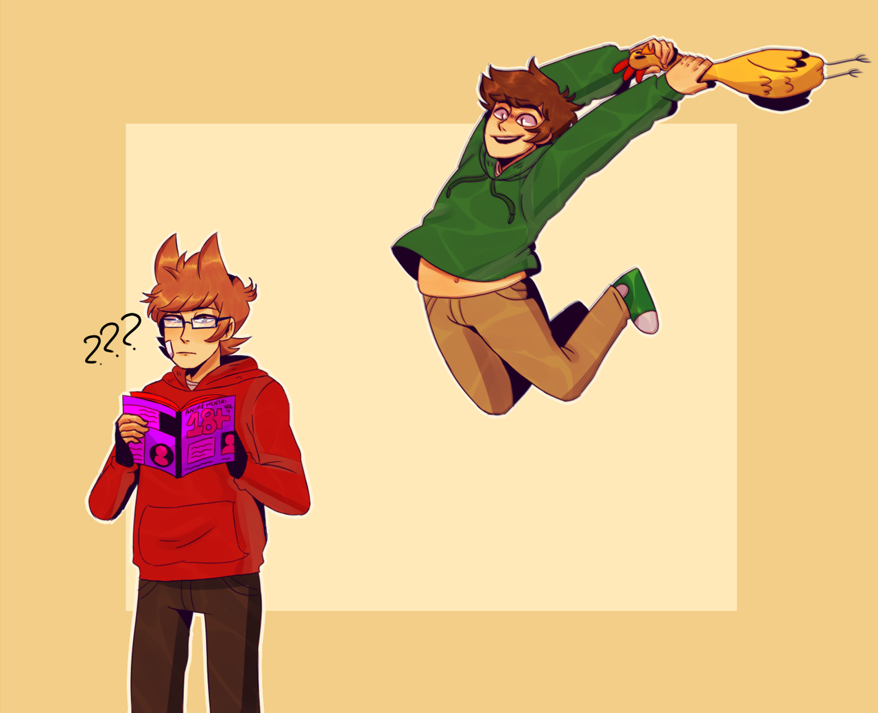 Tumblr Is A Place To Express Yourself Discover Yourself And Bond Over The Stuff You Love It S Where You Eddsworld Memes Gravity Falls Funny Eddsworld Comics