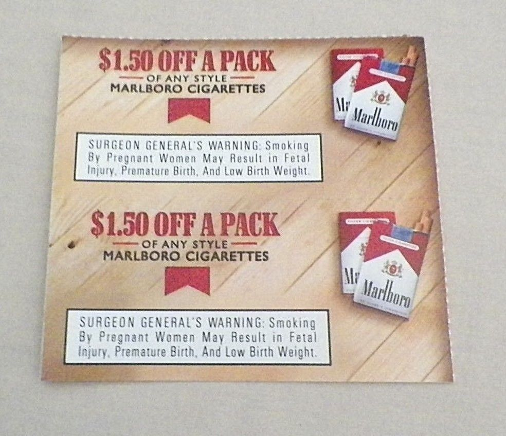 It's just a graphic of Influential Printable Coupons for Marlboro Cigarettes