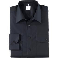 Olymp Feuerwehr Hemd, modern fit, Kent, Marine, 42 Olymp