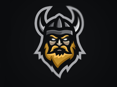 b2e8bdff Viking Mascot Logo | Man cave, Sports | Viking logo, Logos, Esports logo