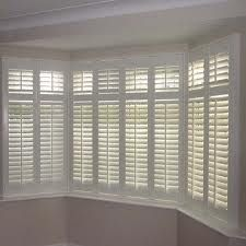 The Blind Gallery Bay Window Living Room Bay Window Shutters Window Shutters Indoor