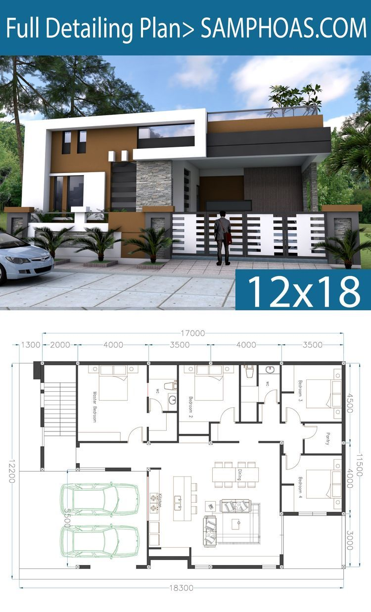 One Story House Plan 40x60 Sketchup Home Design House Design Pictures Model House Plan House Plan Gallery