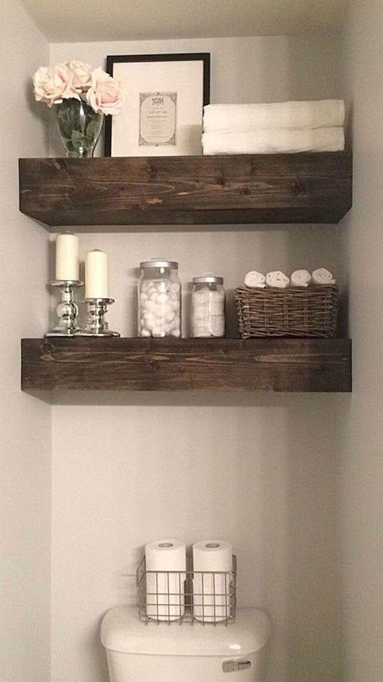 Floating Shelves For The Bathroom Sink