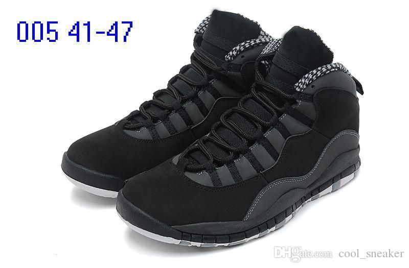 0c940f6147a 2018 10 for Powder Blue cool Grey OVer red Chicago London Mens Basketball  Shoes classic 10s X Mid Athletic Sport Sneakers