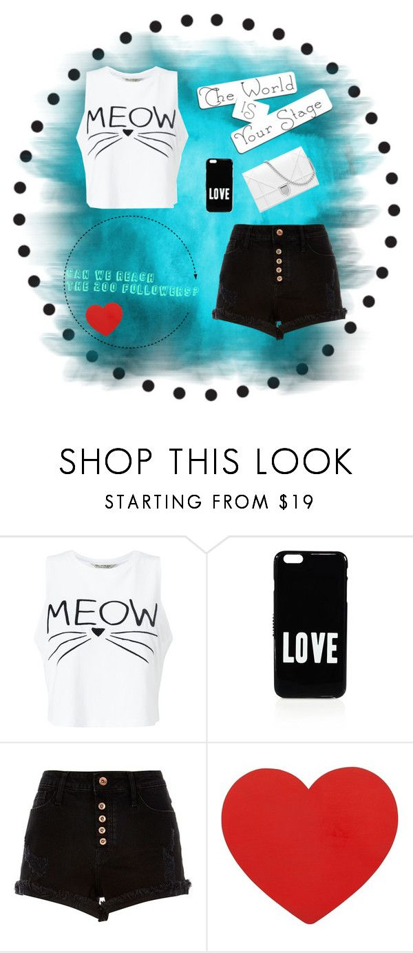 """""""Can we reach the 200 followers? ❤️ We are almost there! I have 193 followers.... 😱💪🏼✨🎉 love u guys 💕💕"""" by xlindytjeeex ❤ liked on Polyvore featuring Miss Selfridge, Givenchy and River Island"""
