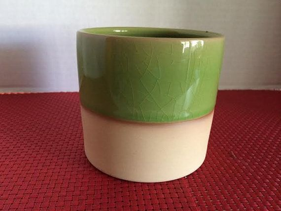 Succulent Plant Medium Two Tone Planter by SucculentOasis on Etsy