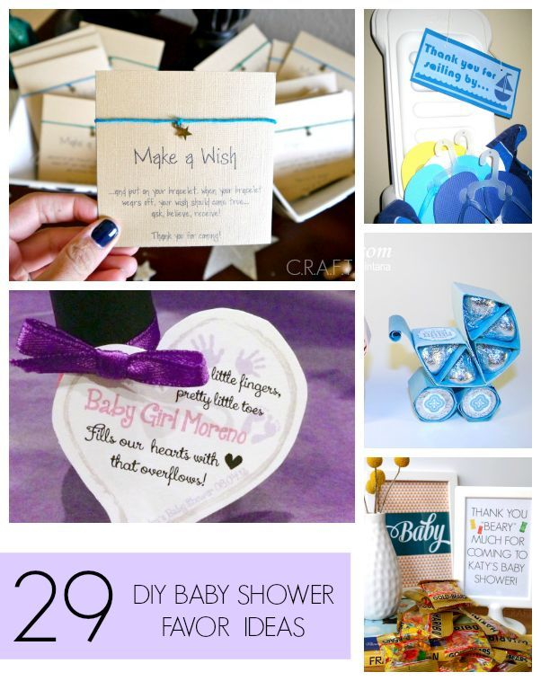 Homemade baby shower favors solutioingenieria Image collections