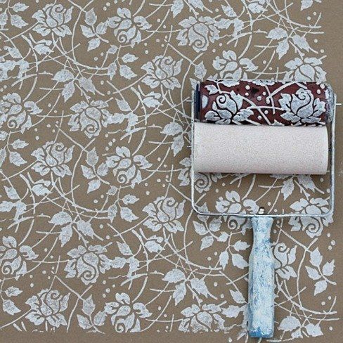 Pin By Vesna Grujicic On Idea Patterned Paint Rollers Paint