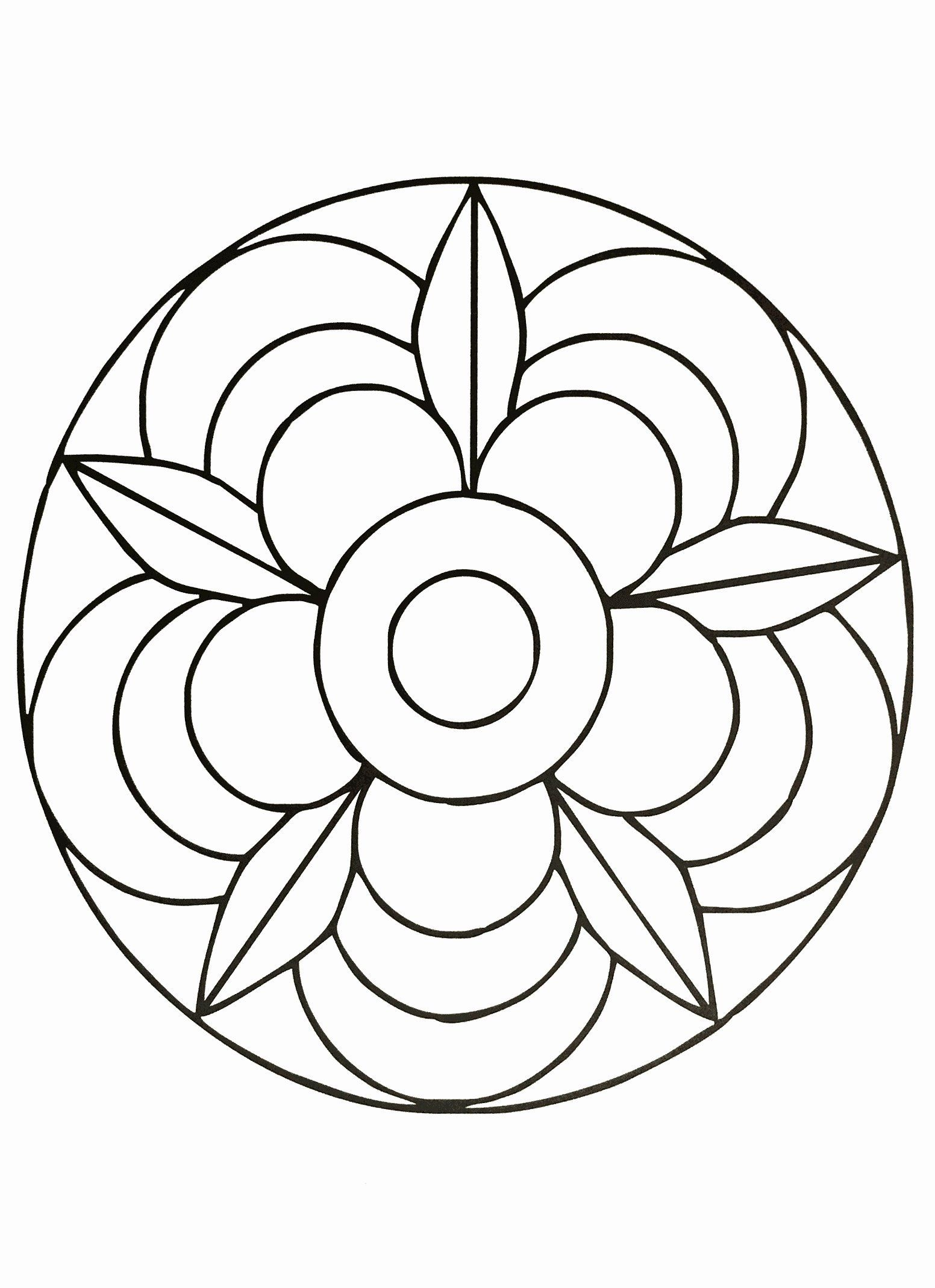 Simple Flower Coloring Book Pdf Elegant Coloring Pages Coloring