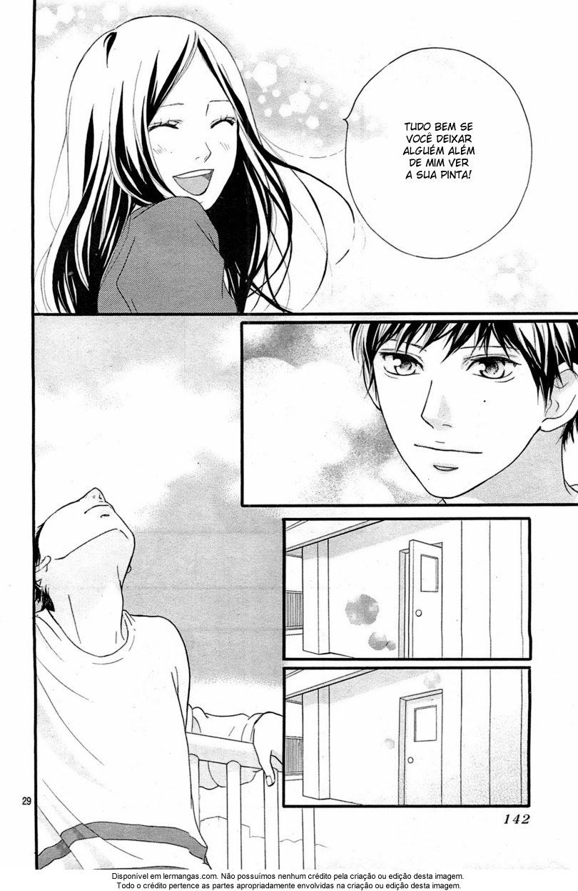 Ao Haru Ride capítulo 27  ....oi?
