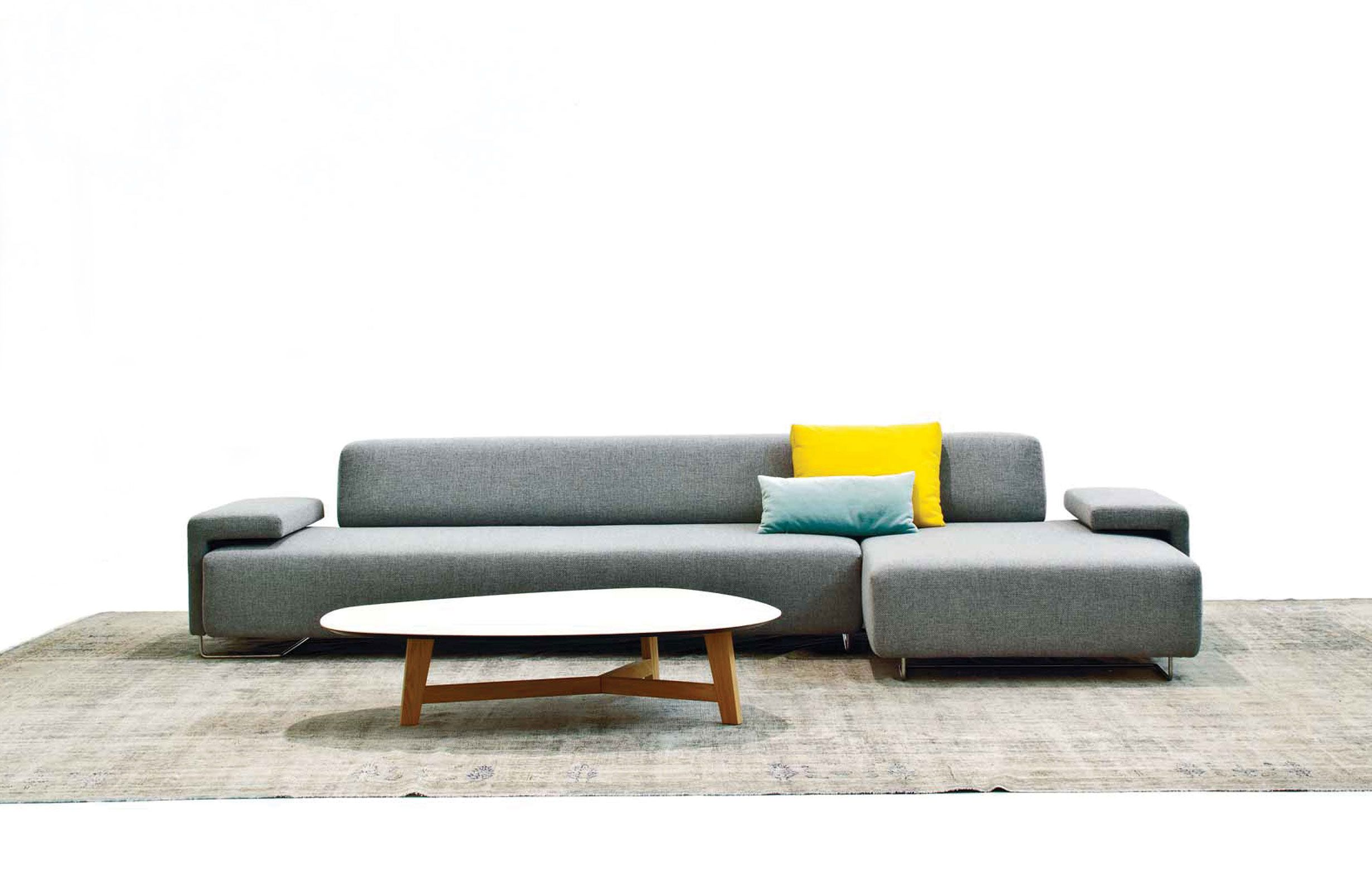 Lowland Quick Ship Sofa By Moroso