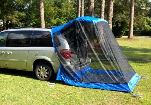 This is the Tail Veil Tent for minivans. You can also buy the Rainfly which & This is the Tail Veil Tent for minivans. You can also buy the ...