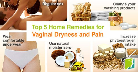 Home remedy for pain during sex