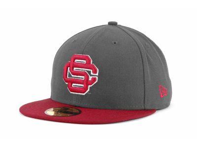 6effb3d6f USC Trojans New Era NCAA 2 Tone Graphite and Team Color 59FIFTY Cap ...