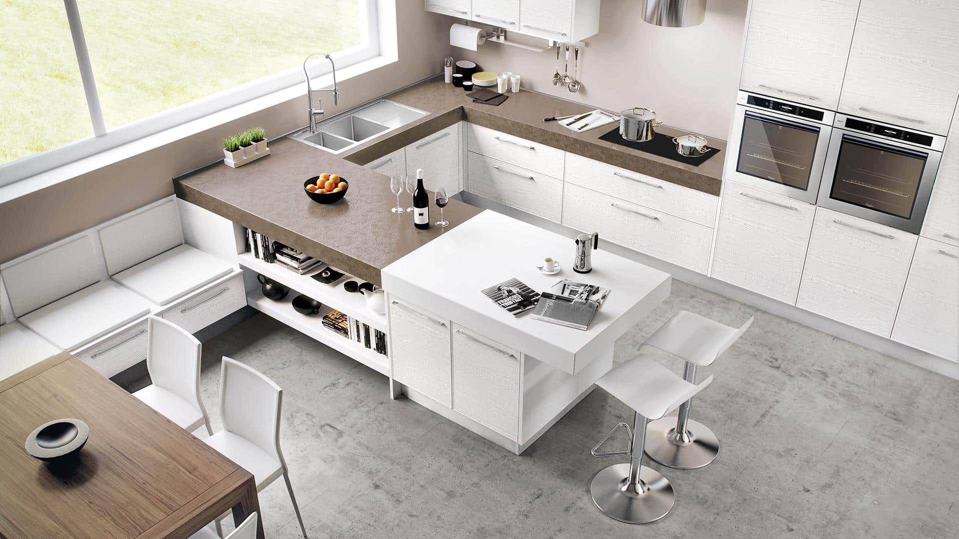 Progettazione Cucine Moderne Cucine Classiche In Muratura Cucine Lineari O Con Penisola Ampio Show Room Cucine Moderne Arredo Interni Cucina Design Cucine