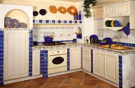 cucina in muratura - Pesquisa Google | kitchen,cucina, cozinha ...