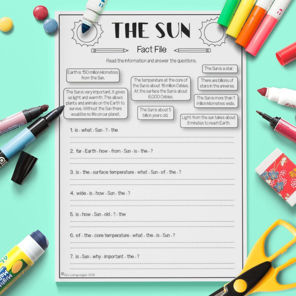 The Sun Fact File
