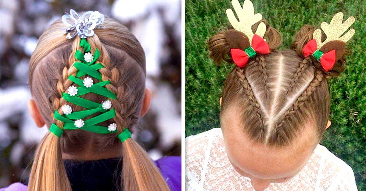 Bonito y cómodo peinados para navidad Galería de tendencias de coloración del cabello - 15 peinados muy originales para esta Navidad | Peinados ...