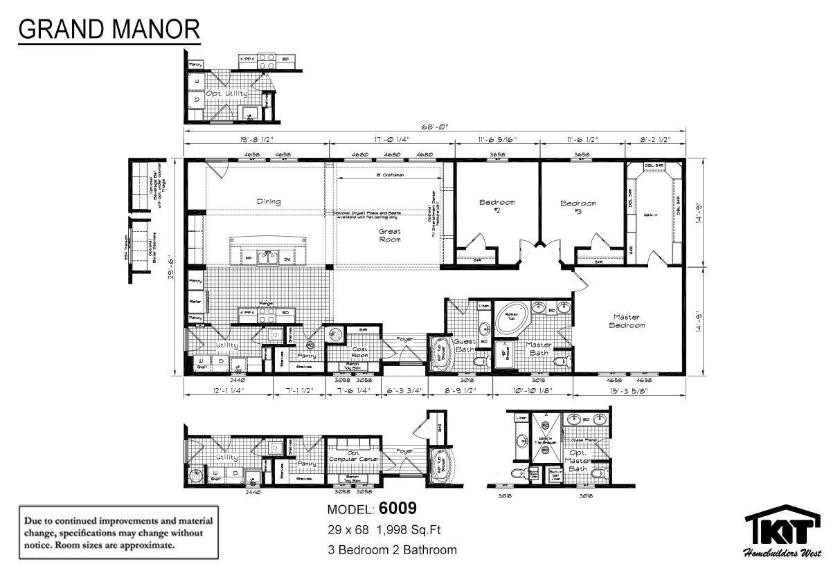 Grand Manor 6009 | Home Floor Plans in 2019 | Modular homes ... on manufactured homes interior, manufactured home plans and prices, manufactured home site plan, triple wide manufactured home plans, manufactured modular homes, manufactured home lighting, manufactured home loan, manufactured home remodeling, manufactured homes decorating, manufactured homes built in 1978, manufactured mobile homes 2014, manufactured home kitchen plans, manufactured home layouts, manufactured homes in texas, manufactured home garage plans, manufactured home with attached garage, manufactured home steps plans, manufactured housing, manufactured homes inside, manufactured home community,