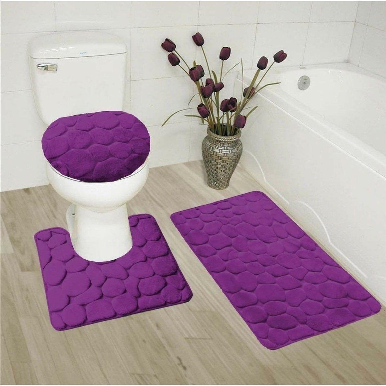 How To Choose Bath Rugs Mats Foter Memory Foam Bath Rugs Memory Foam Bathroom Mat Bathroom Mat Sets [ 1272 x 1272 Pixel ]