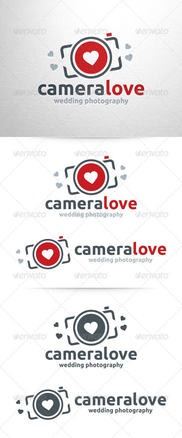 Camera Love - Photography Logo