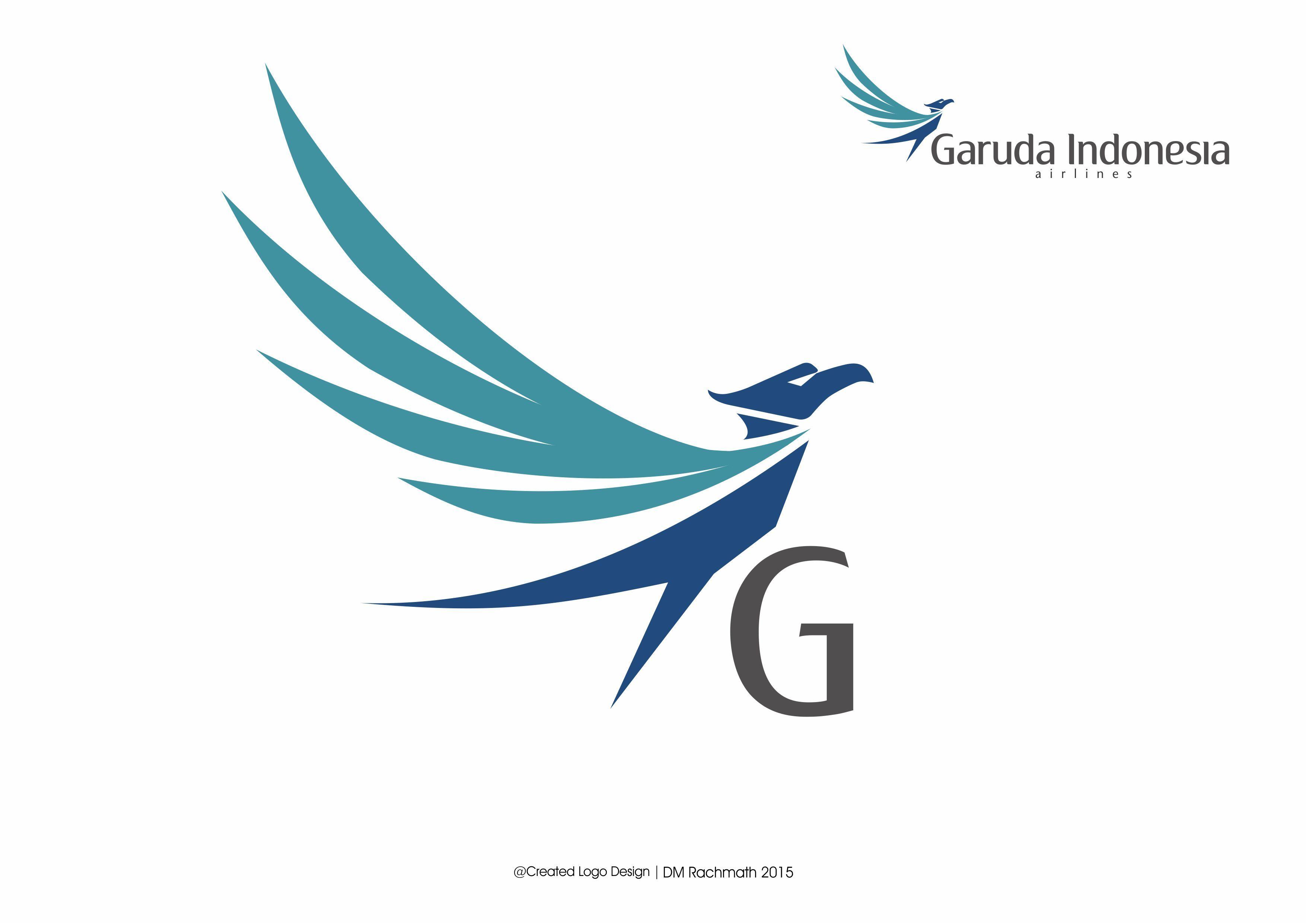 Garuda Indonesia Logo Flying Bird Created By Dm Rachmath Logo Concept Logos Birds Flying