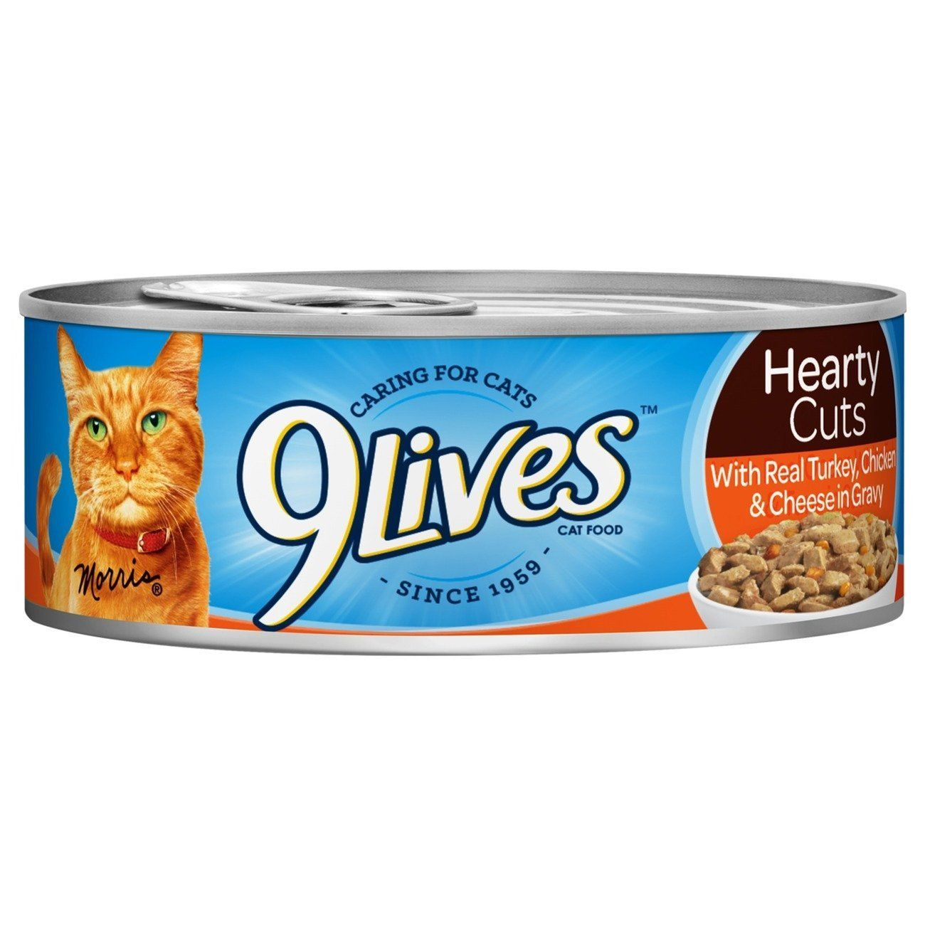9Lives Hearty Cuts with Real Turkey, Chicken and Cheese in Gravy Wet Cat Food, 5.5oz Cans (Pack of 24) >>> Find out more about the great product at the image link. (This is an affiliate link and I receive a commission for the sales)