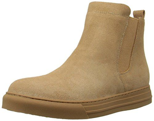 Dirty Laundry by Chinese Laundry Women's Fabina Split Sued Boot, Camel, 9 M US $21.99