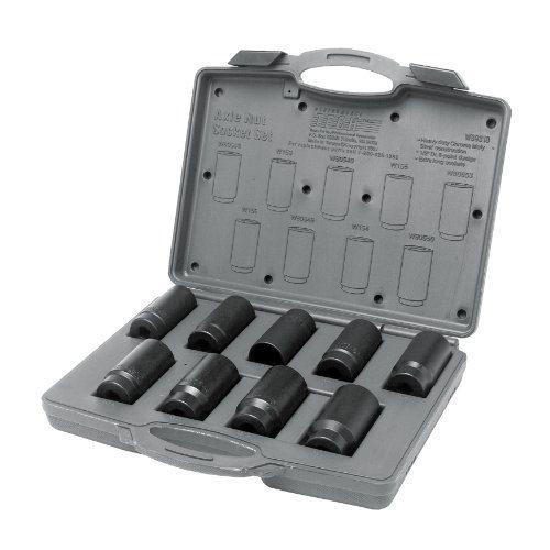 Performance Tool W89318 Axle Nut Socket Set 9-Piece