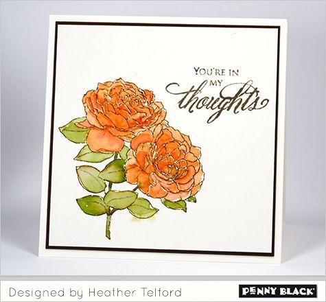 Elegant Blooms | The Penny Black Blog | Bloglovin'