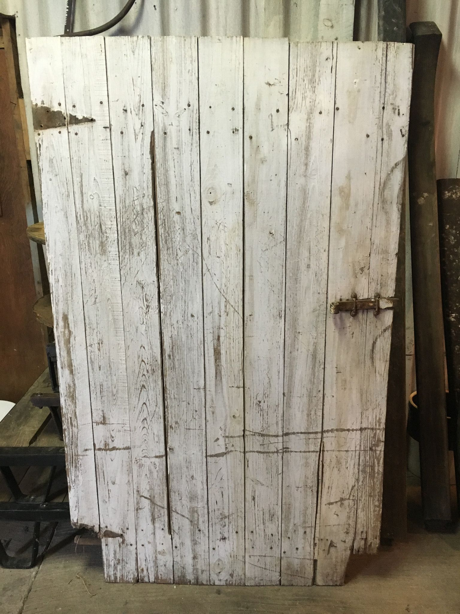 Amish Made Barn Door 44 1 2 W X 75 H Barn Door Making Barn Doors Barn Siding