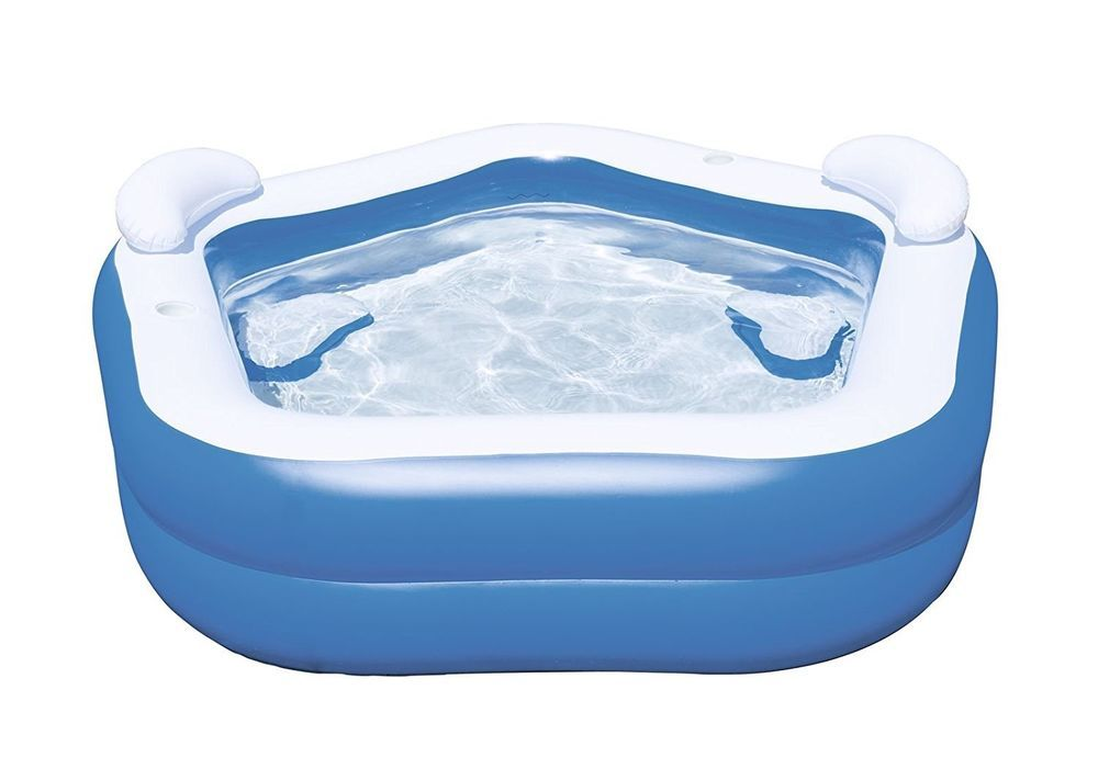 Bestway Inflatable Family Pool With Seats Summer Outdoor Fun