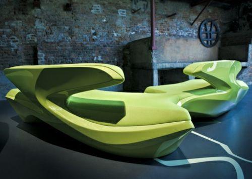 Designer couch rund  attraktives schönes designer sofa zaha hadid idee glatt klare ...