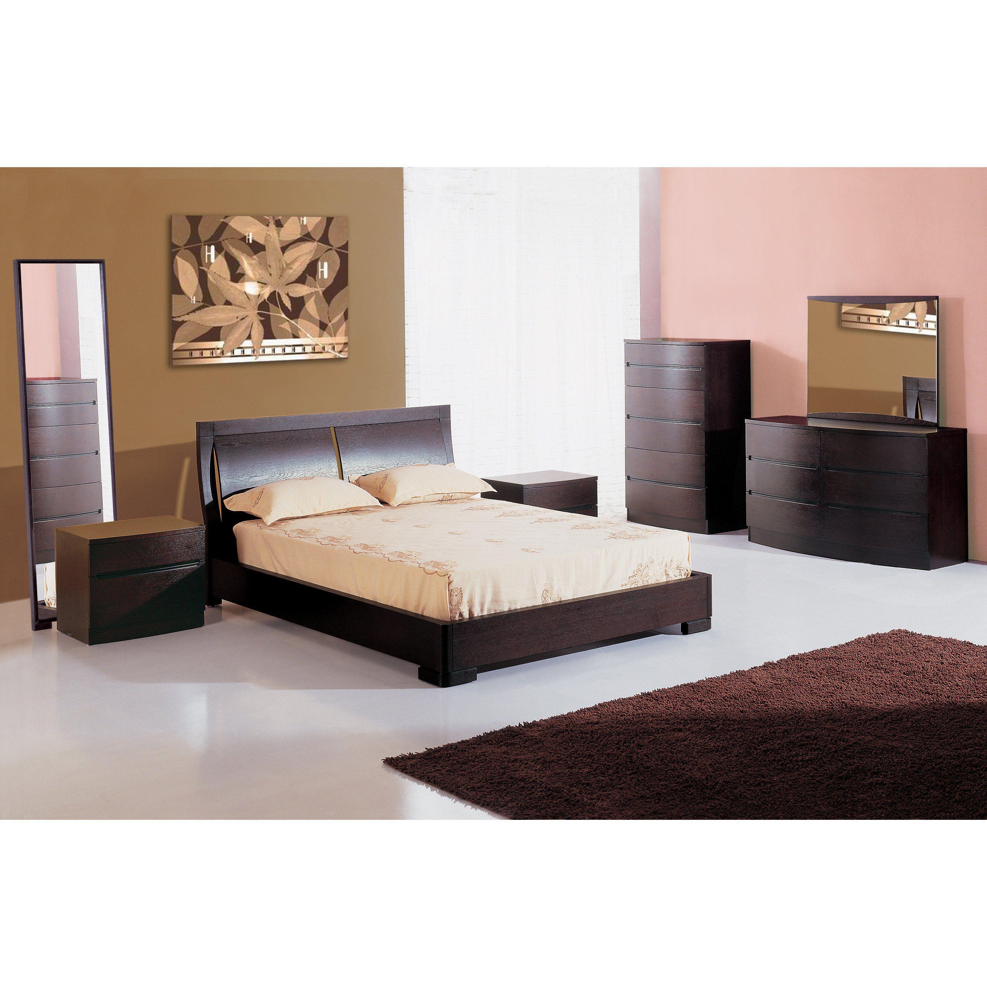 Beverly hills furniture maya drawer dresser espresso beve