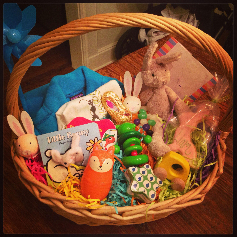 L's first Easter basket