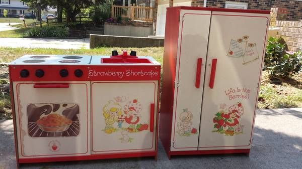 Vintage Strawberry Shortcake Kitchen